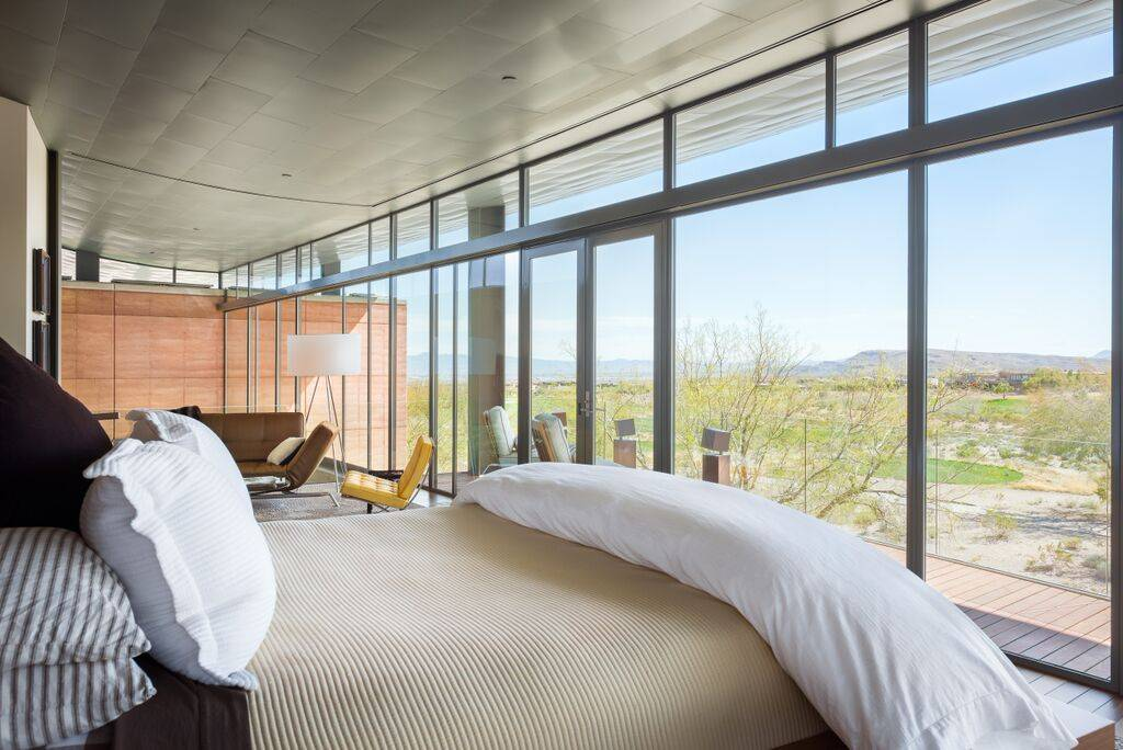 CAVU Las Vegas A Residence Designed By Sin Citys Top Resort Architects Jon Sparer And John Klai Along With Eric Strain Of Assemblage Studio Real