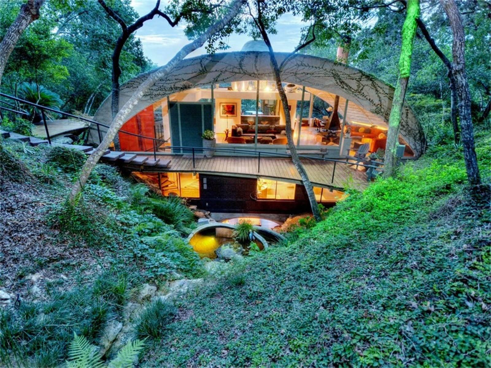 Austin Grotto Dome Home