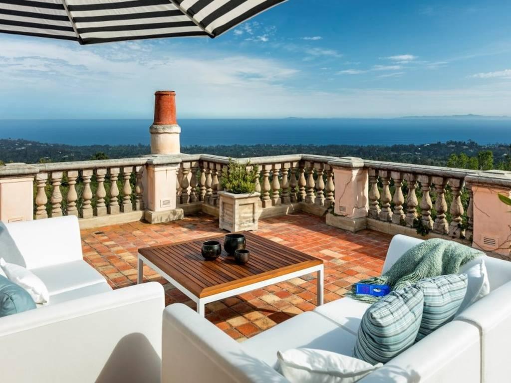 Jeff Bridges' Montecito Estate