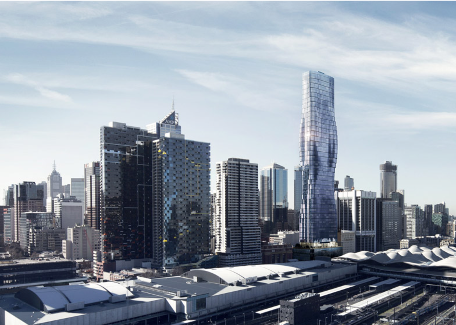 Premiere Tower will be a main attraction in Melbourne's planned downtown redevelopment.