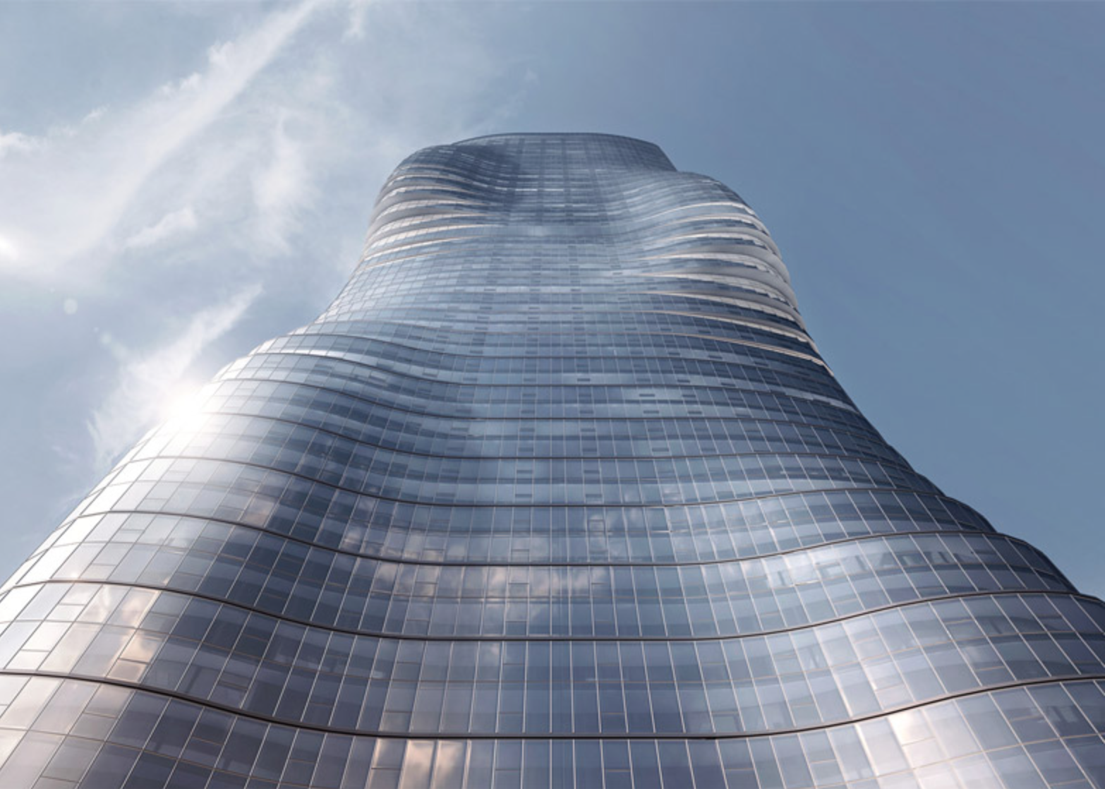 Premiere Tower's contours mimic the curves of Beyoncé's famous figure.