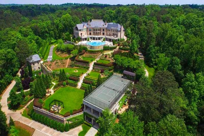 Tyler Perry's Atlanta Home