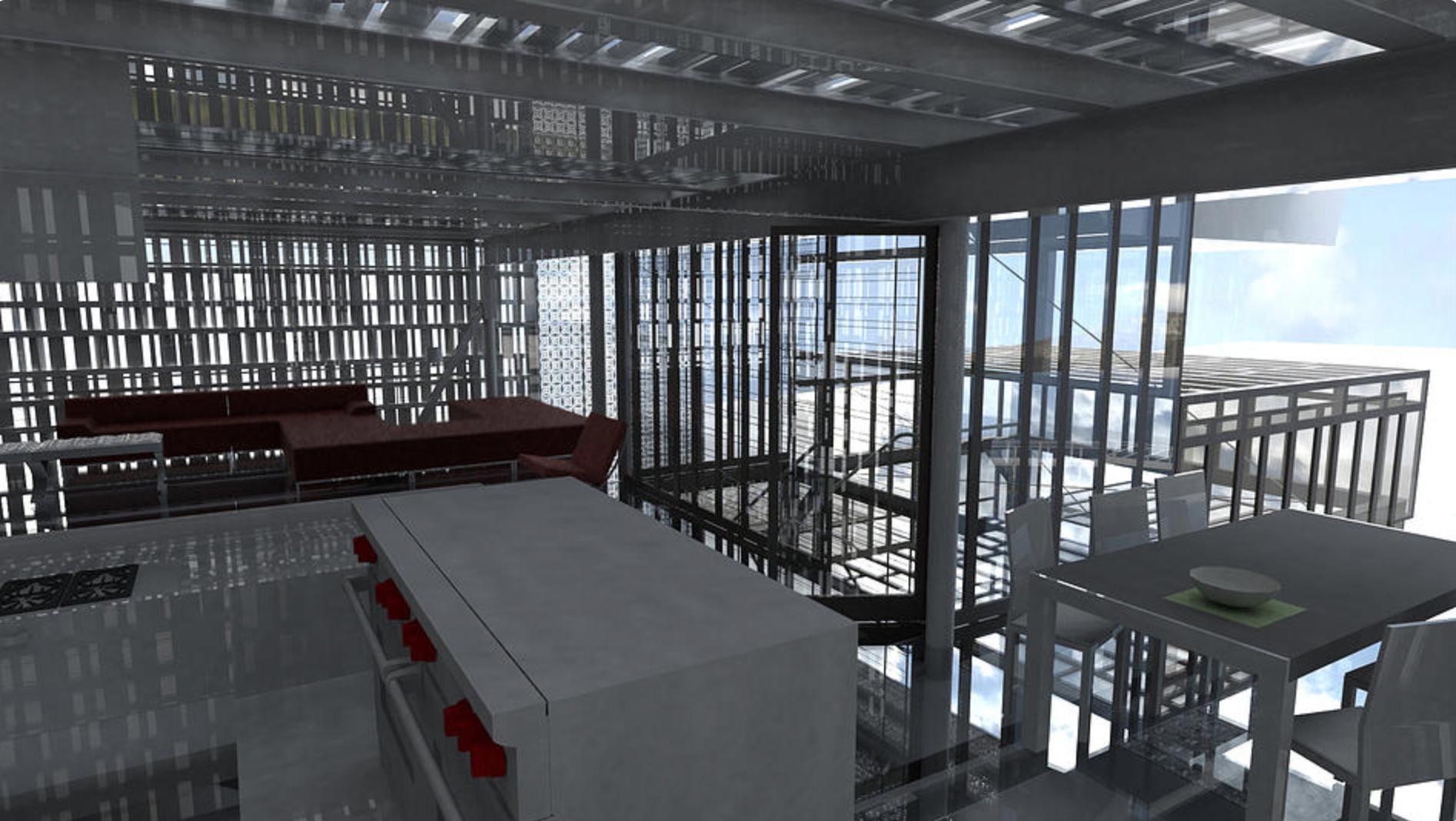 Industrially-designed interiors