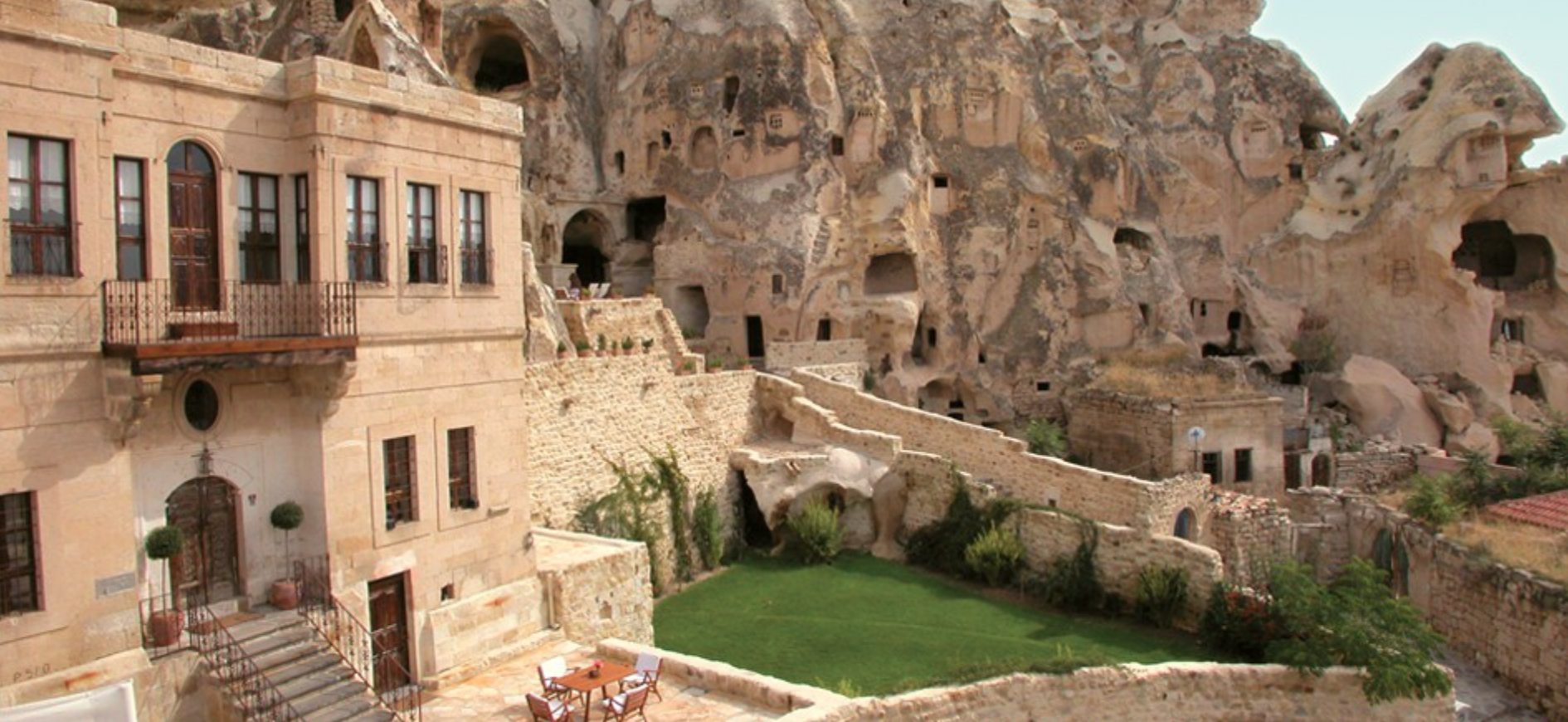 Cappadocia is famous for carved homes, churches, monasteries--and now the Yunak Evleri hotel.