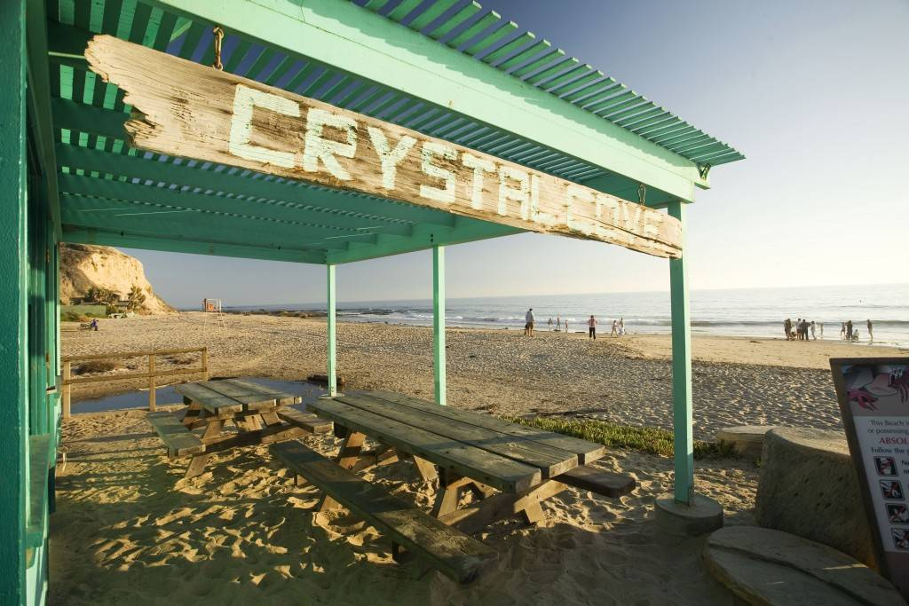 Crystal Cove - Day, beach shack