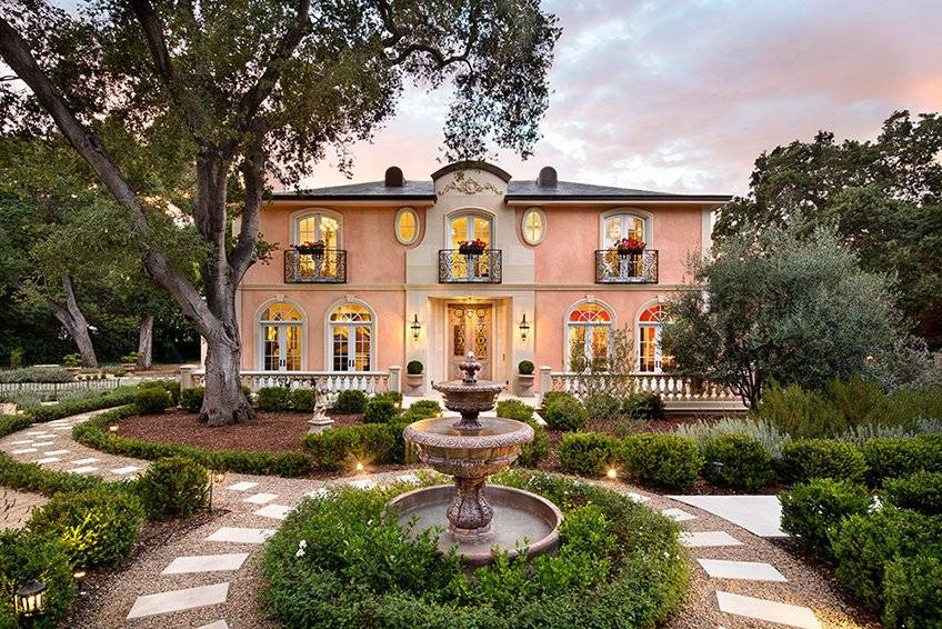 5 romantic french style estates for sale for French style homes for sale