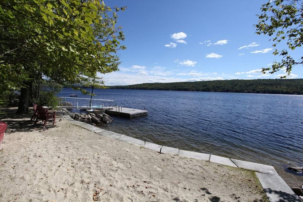 gracious estate overlooking Pleasant Lake