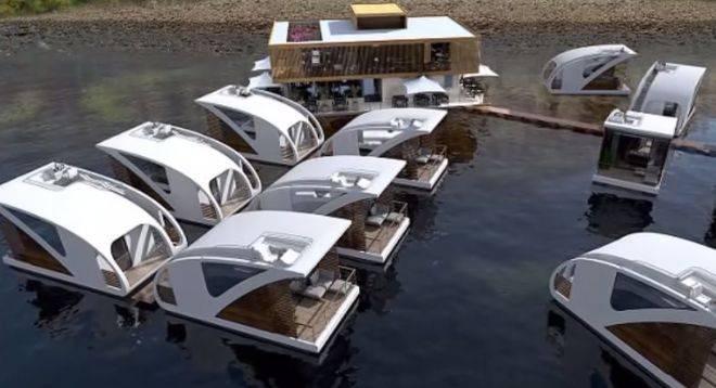 Floating hotel 3