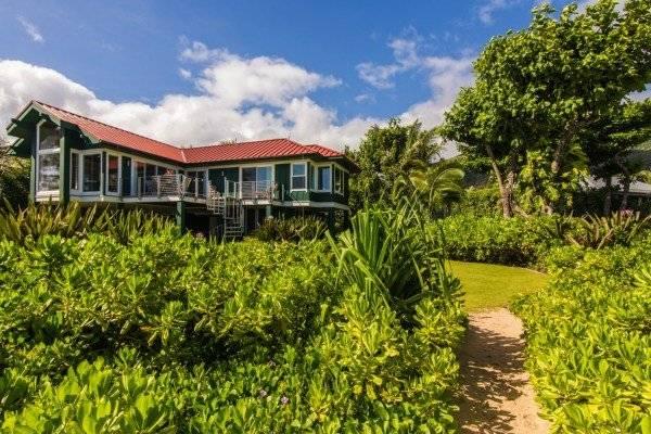 Lovely Kauai Beachfront Home