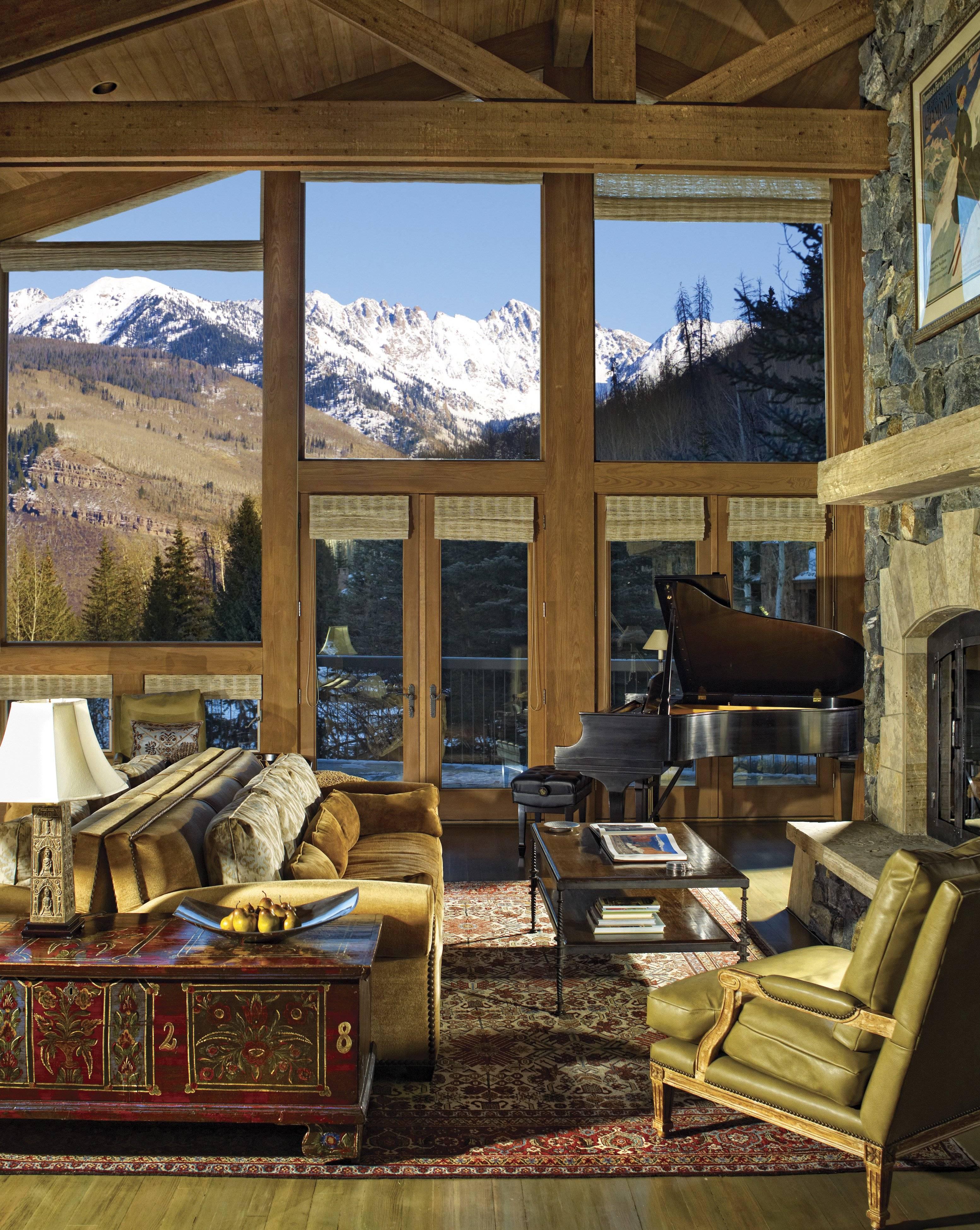 Serene Mountainside Vail Estate
