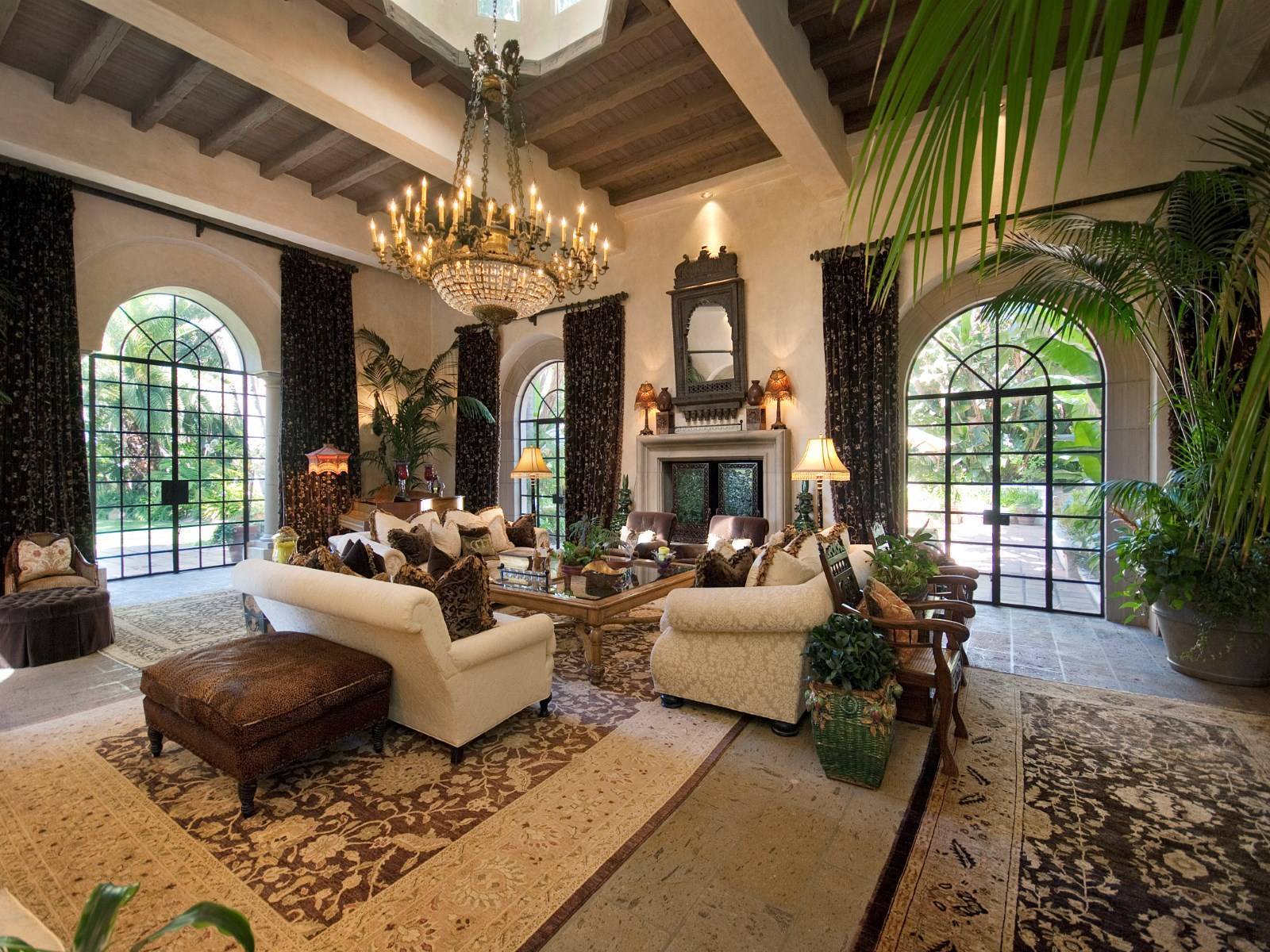 Serra Retreat Spanish Colonial