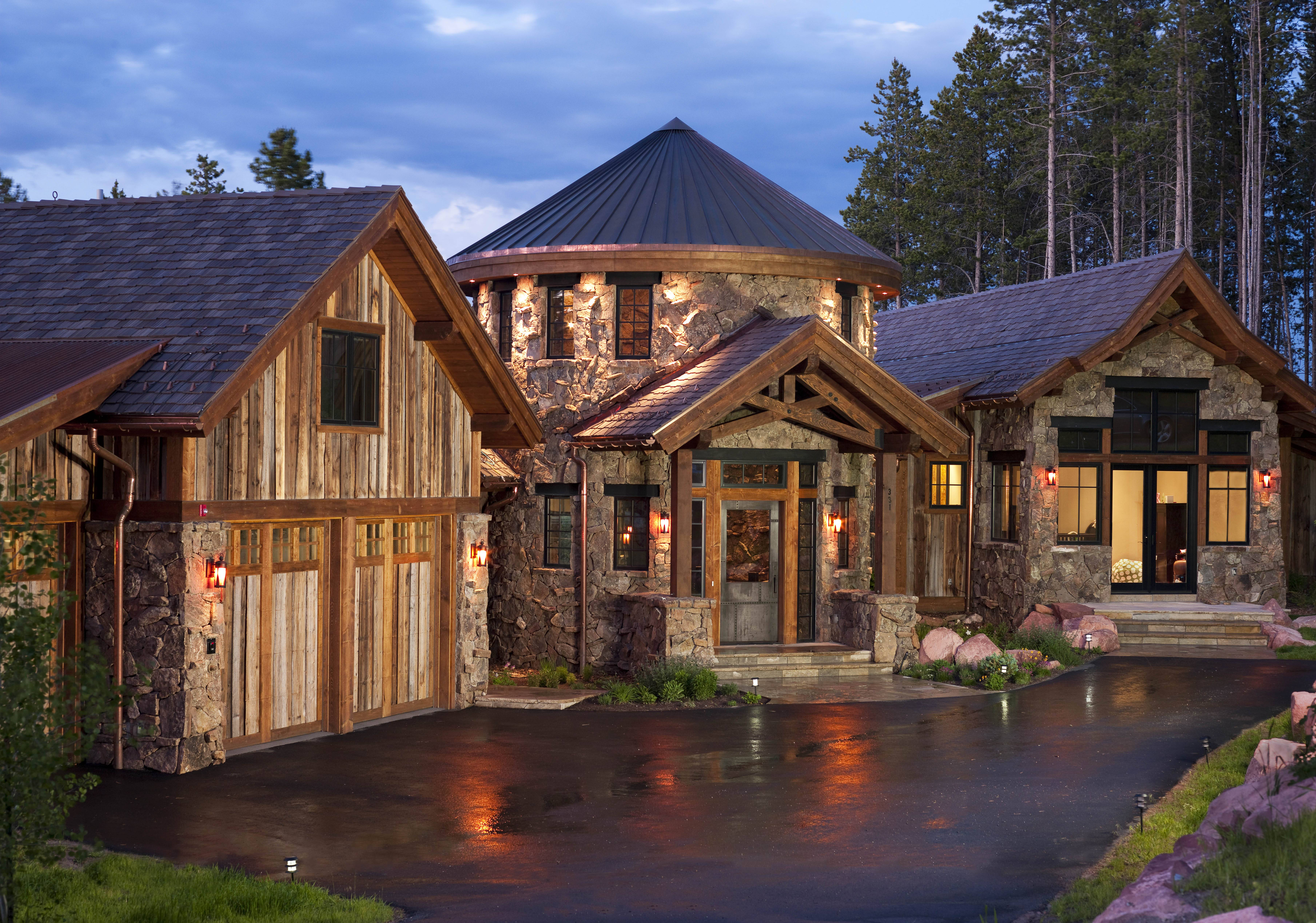 5 mountain estates for sale in vail for Custom housing