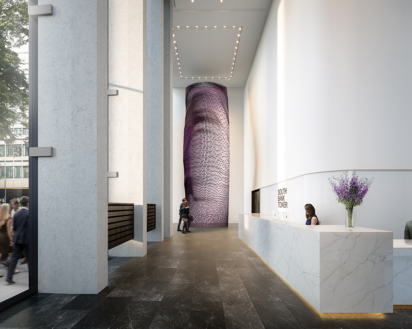 South Bank Tower Lobby