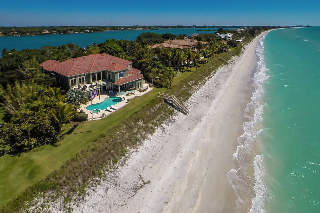 Serene Florida Beachfront Home
