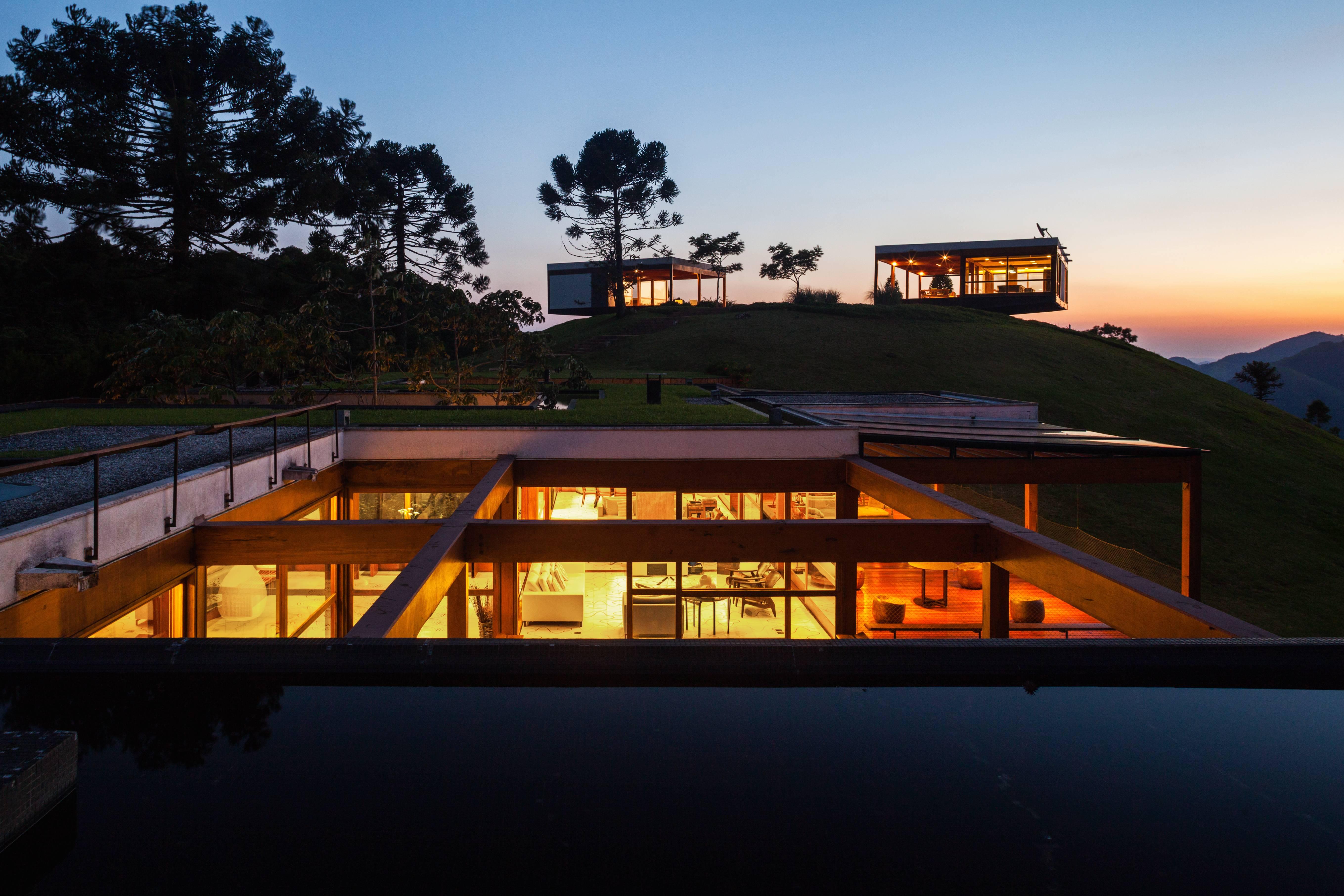 A Modern Tree House in Brazil