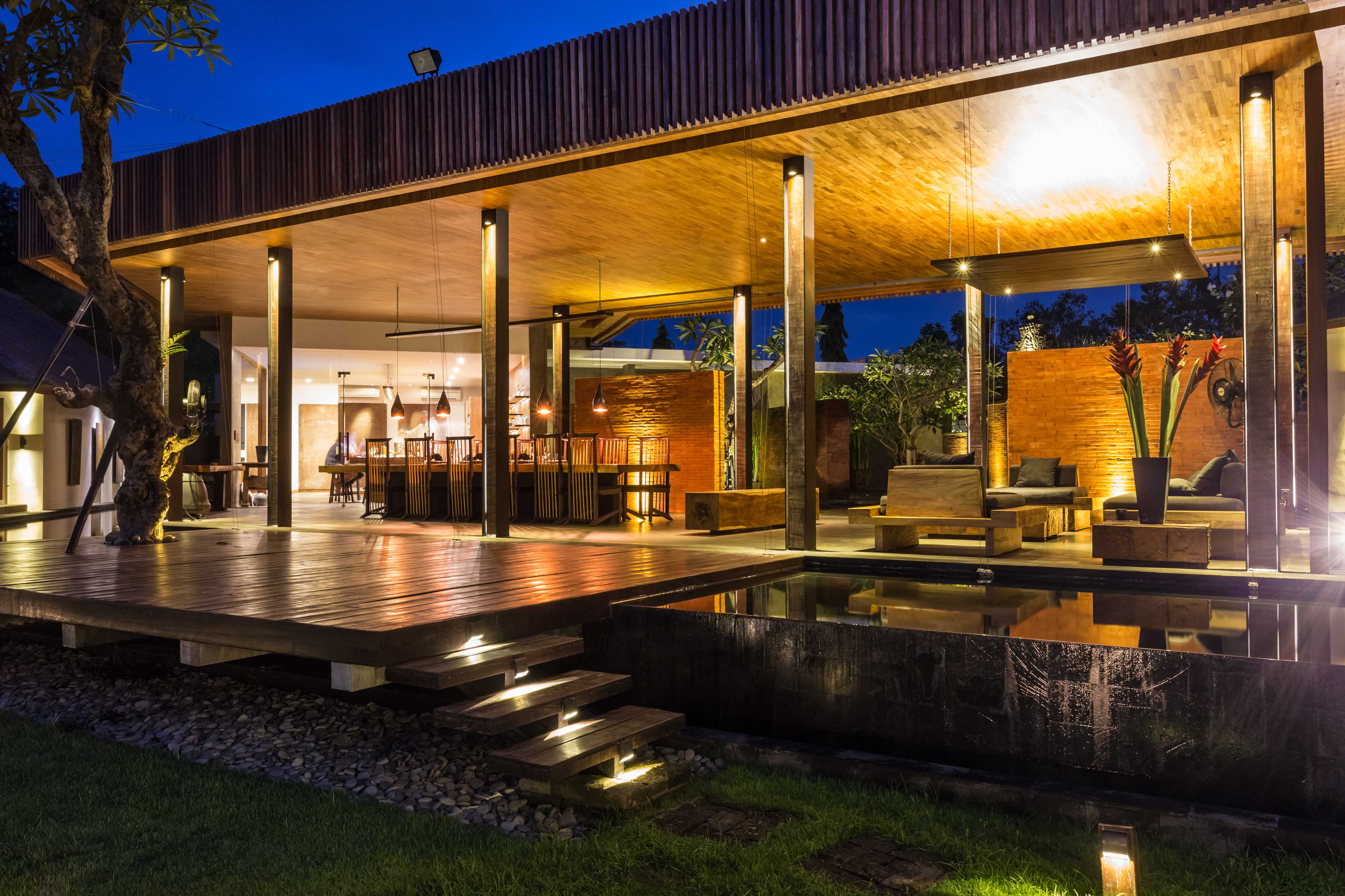 This villa near Bali's Canggu Club is listed with Elite Havens for $2.55 million