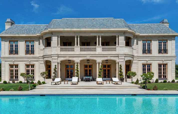 Immaculate Modern French Chateau in Beverly Hills