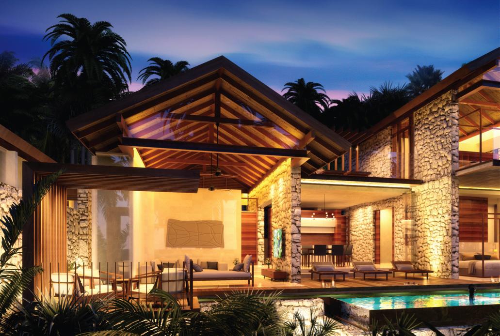 Artist impression: Karma Kandara 3-bedroom villa