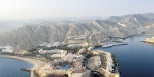 Barr Al Jissah is located on the north east coast of Oman