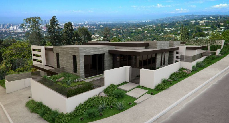 1 remarkable ultra contemporary la estate