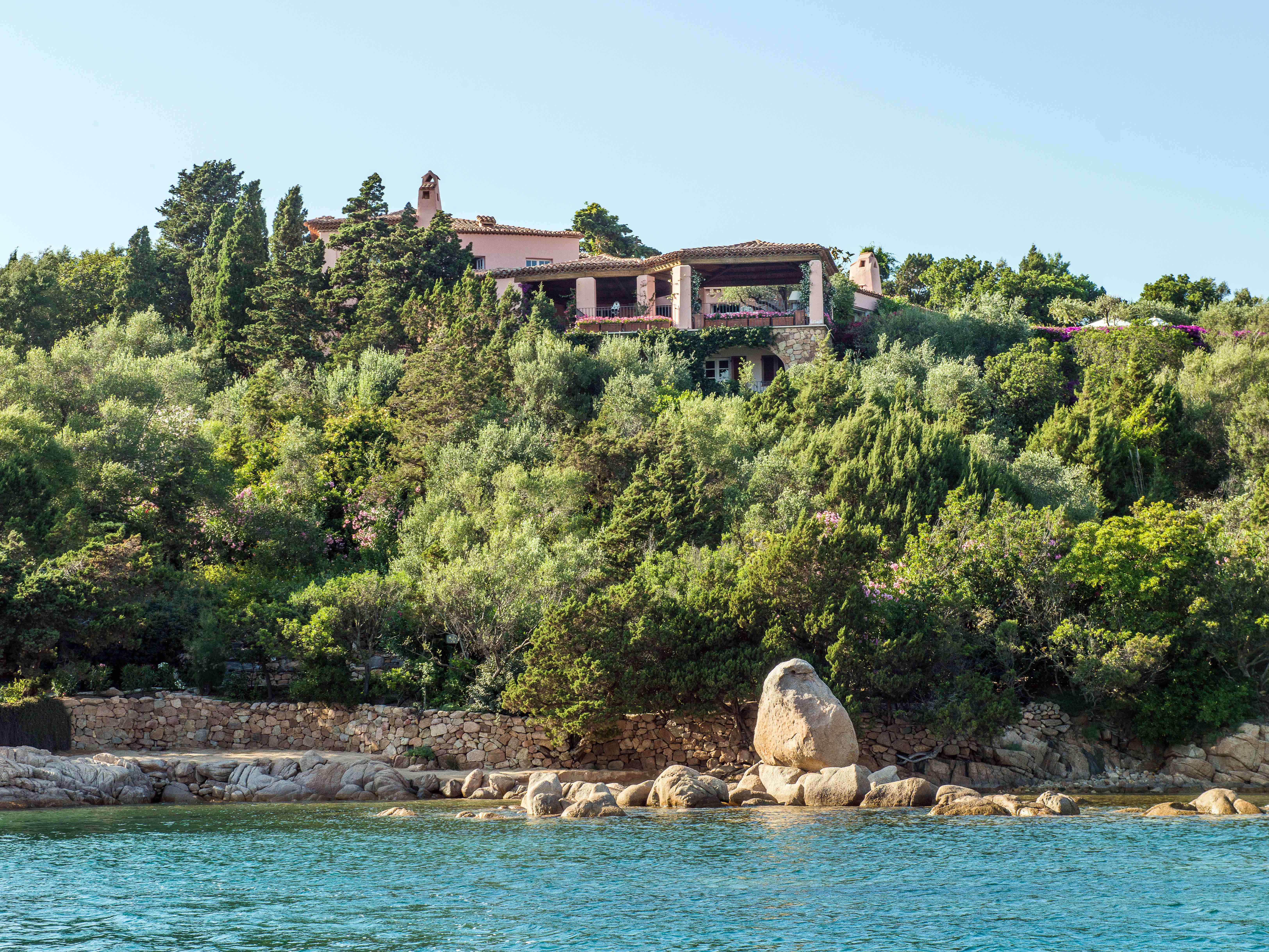 Villa Il Forte is listed with Sotheby's International Realty for an undisclosed price
