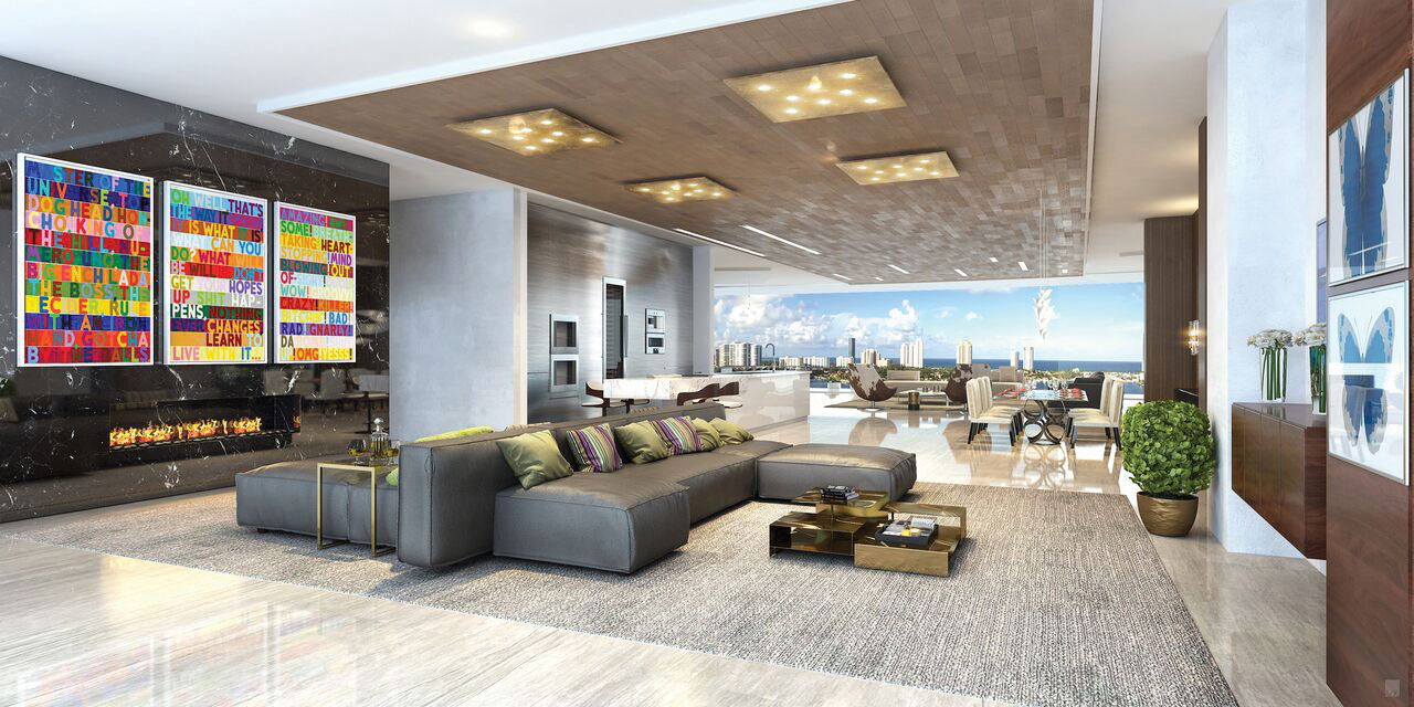 Apartment sizes will range from 2,585 square feet to more than 5,600 square feet