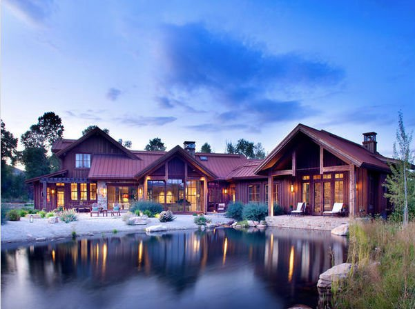 3 enchanting lakefront homes for sale for Lakeside cabins for sale