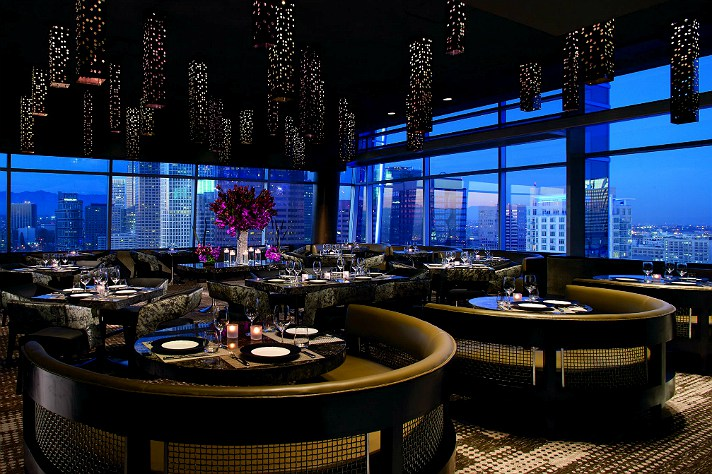 WP24 – Wolfgang Puck's Asian-inspired restaurant in The Ritz-Carlton at L.A. LIVE