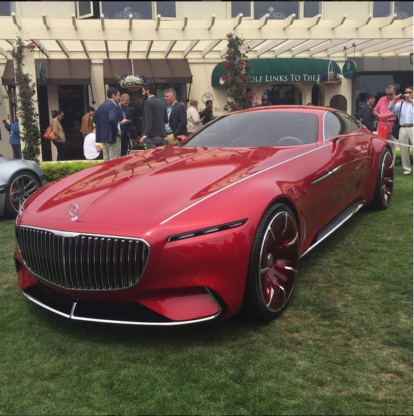 Maybach concept car