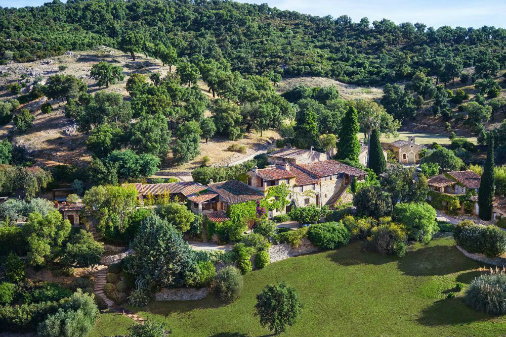 Johnny Depp's private village in the South of France is listed for $55 million.