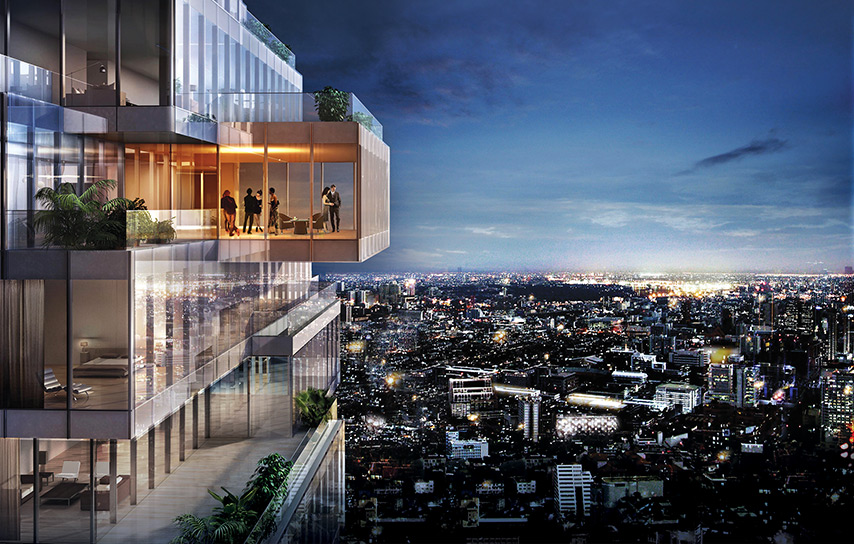 Mahanakhon Thailand S Tallest Tower Is Designed To
