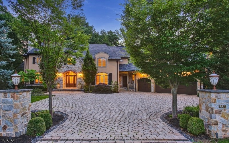 For sale enchanting custom built colonial style home in for Colonial style homes for sale