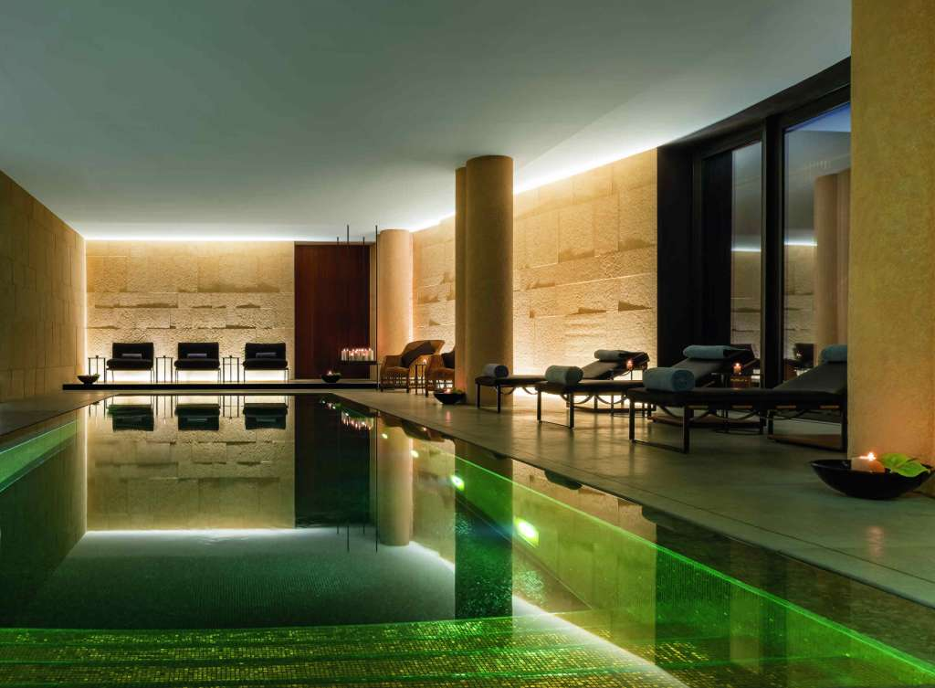 Swimming pool at Bulgari