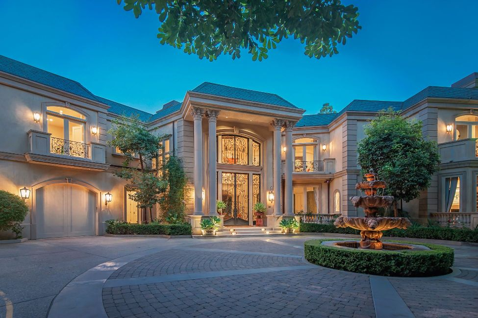 Majestic French Style Beverly Hills Villa North Of Sunset
