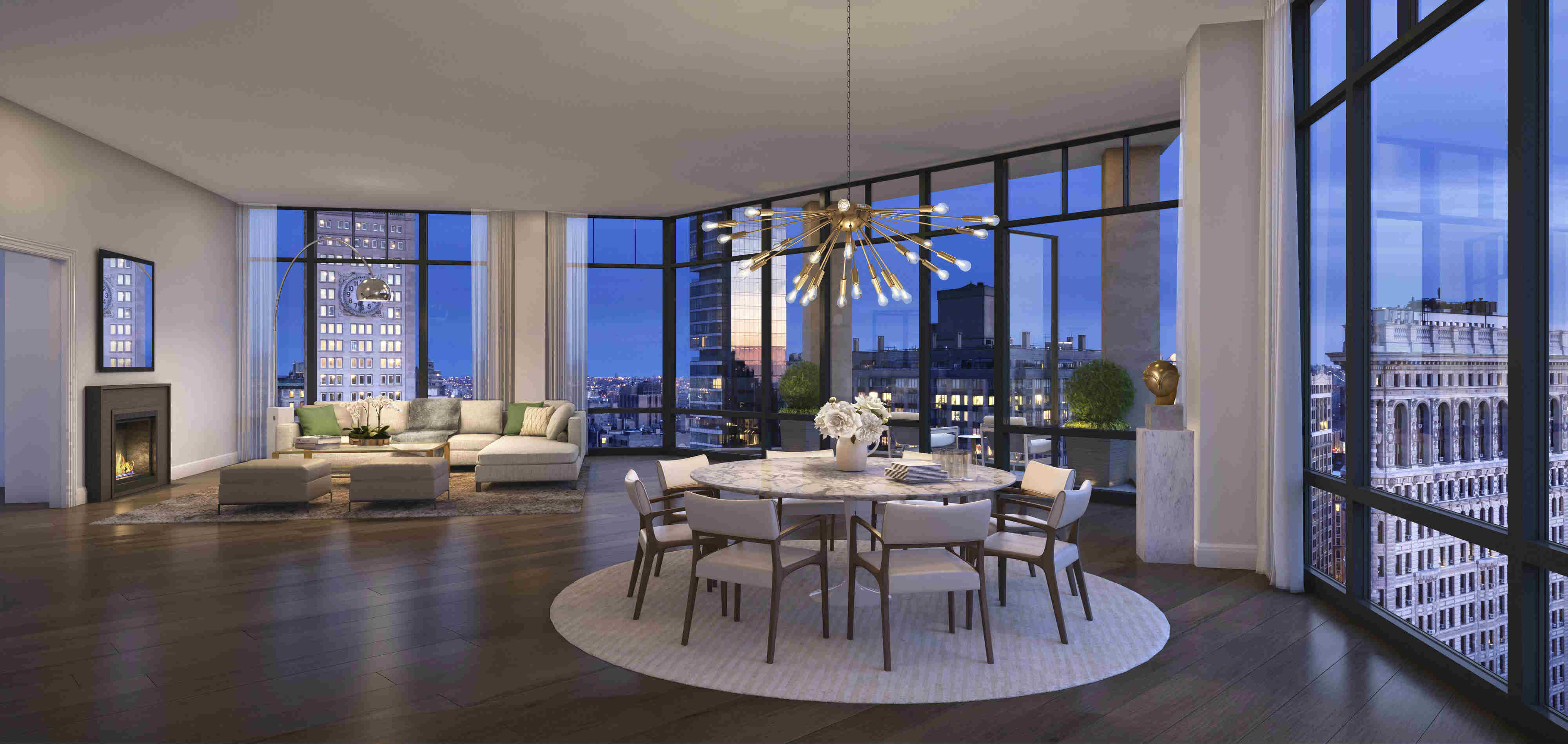 Only one unit is still available in former nyc toy factory for Luxury penthouses in manhattan