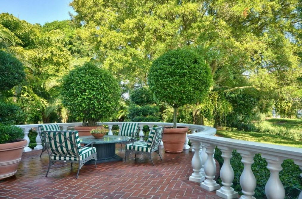 Exquisite tampa bay estate epitomizing elegance and for Koi pond builders tampa
