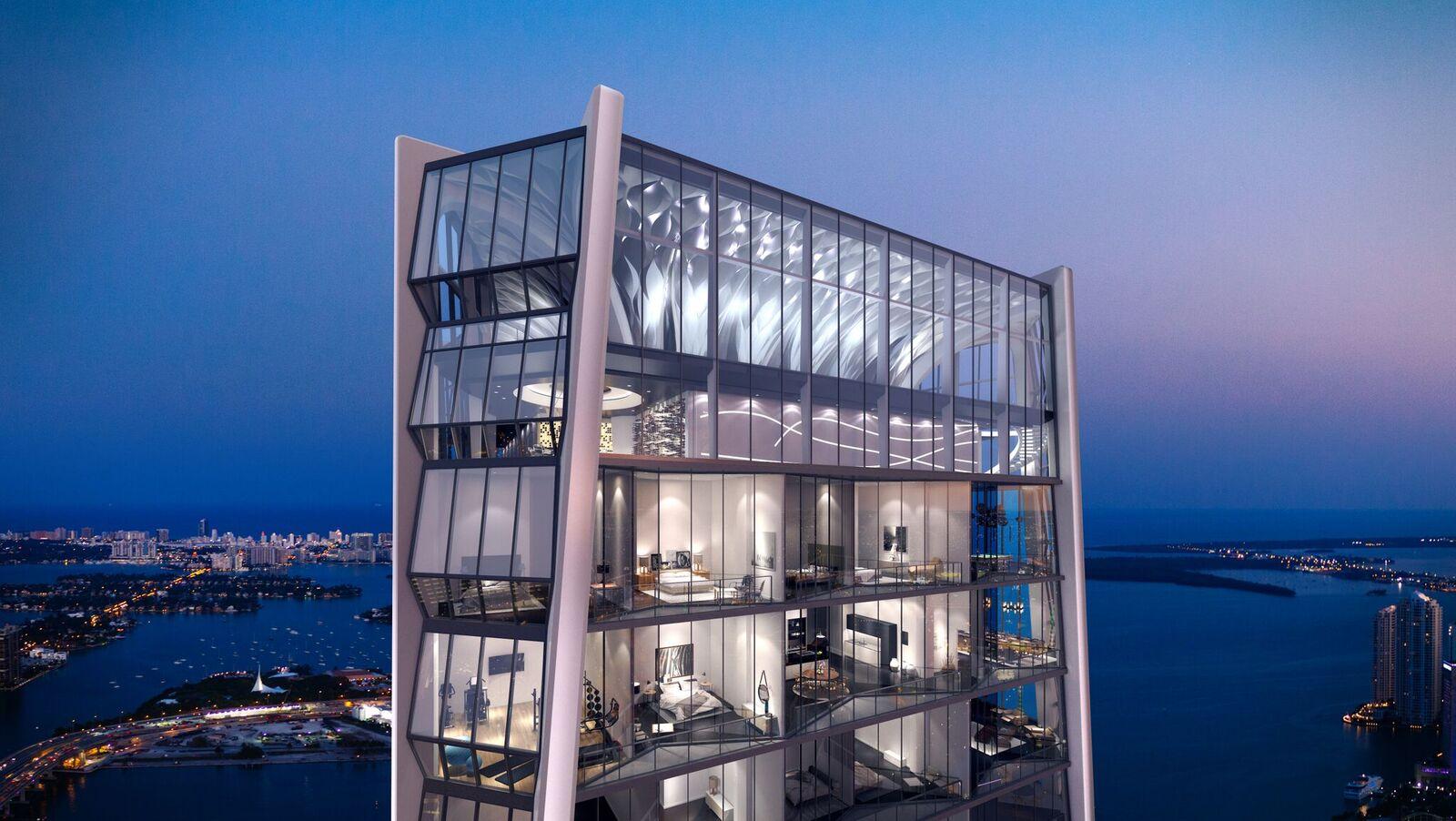 Full Floor Apartment In Zaha Hadid S One Thousand Museum