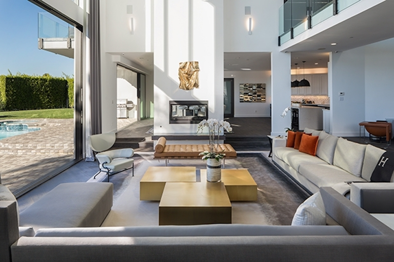 Trousdale Estate Living Rom