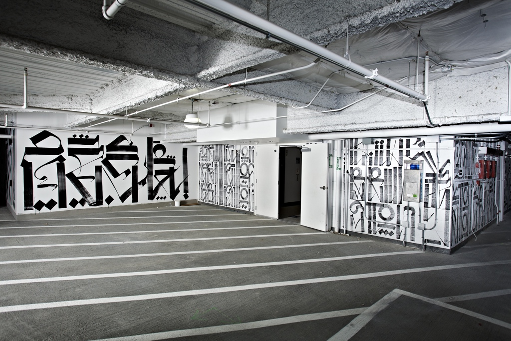 Parking Garage, Renta Wallworks