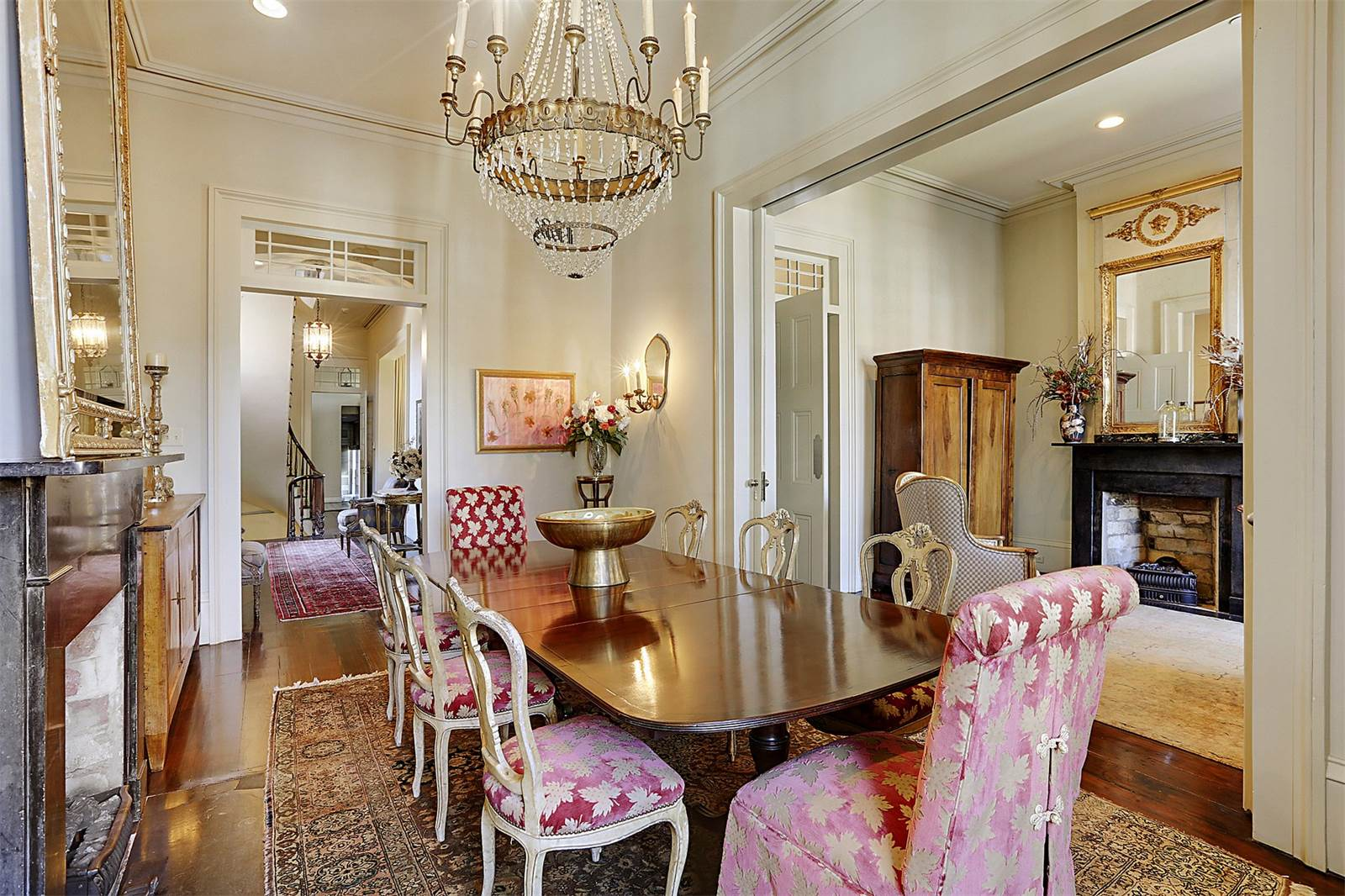 elegant restoration of early 1830s new orleans mansion