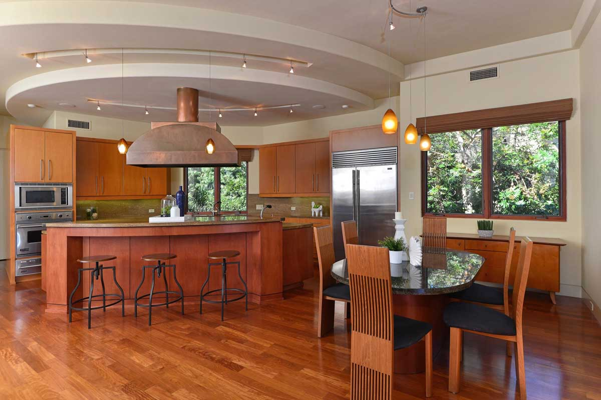 frank lloyd wright inspired contemporary home
