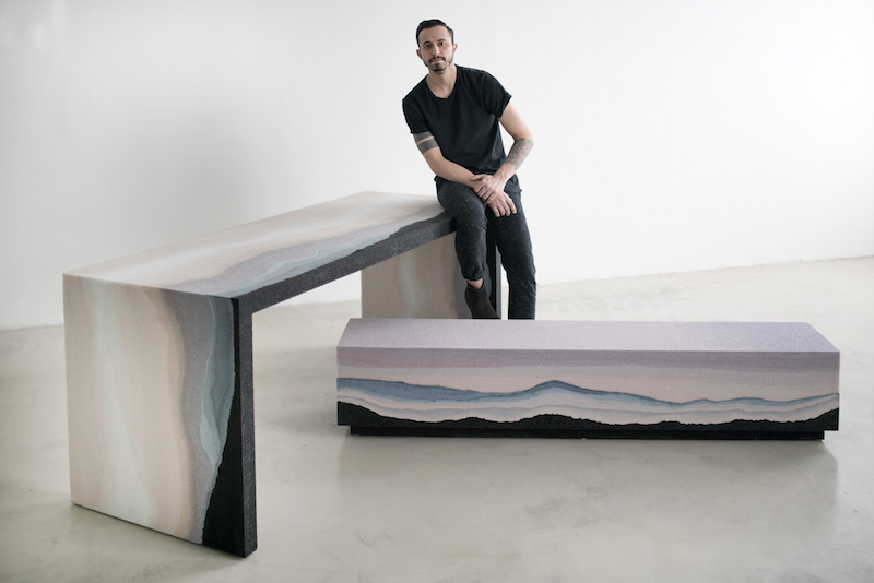 Fernando Mastrangelo Escape Desk and Bench photo by Jacob Gossett
