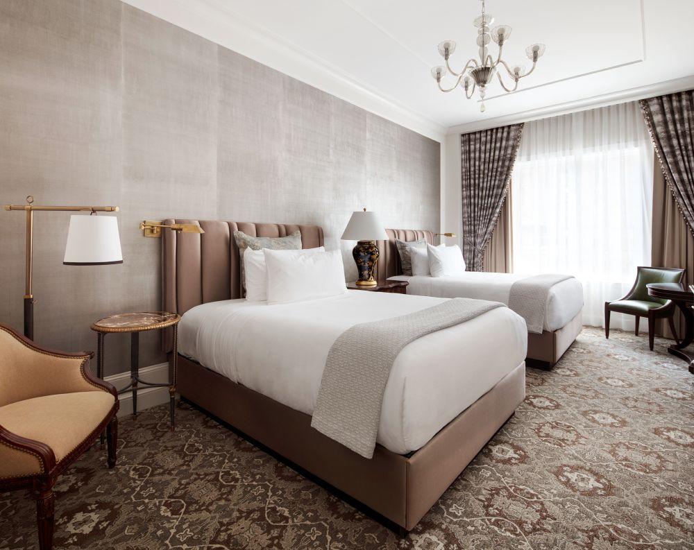 Inside The Harold S Vanderbilt Sky Suite At The Intercontinental New York Barclay Hotel