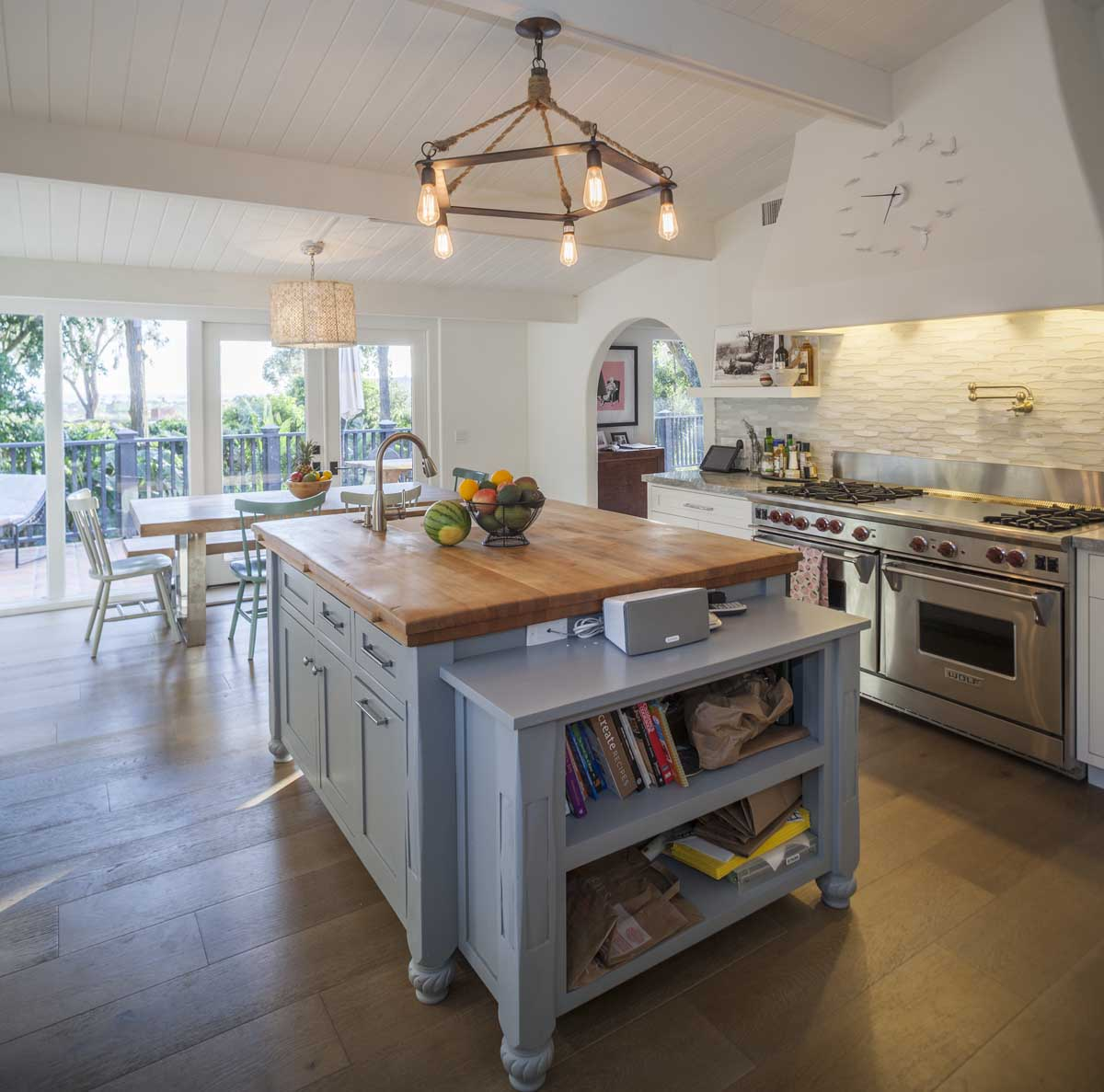 beautiful spanish style malibu home take in ocean views from the living room kitchen and master bedroom and admire the hacienda like garden with outdoor kitchen pool with spa fire pit