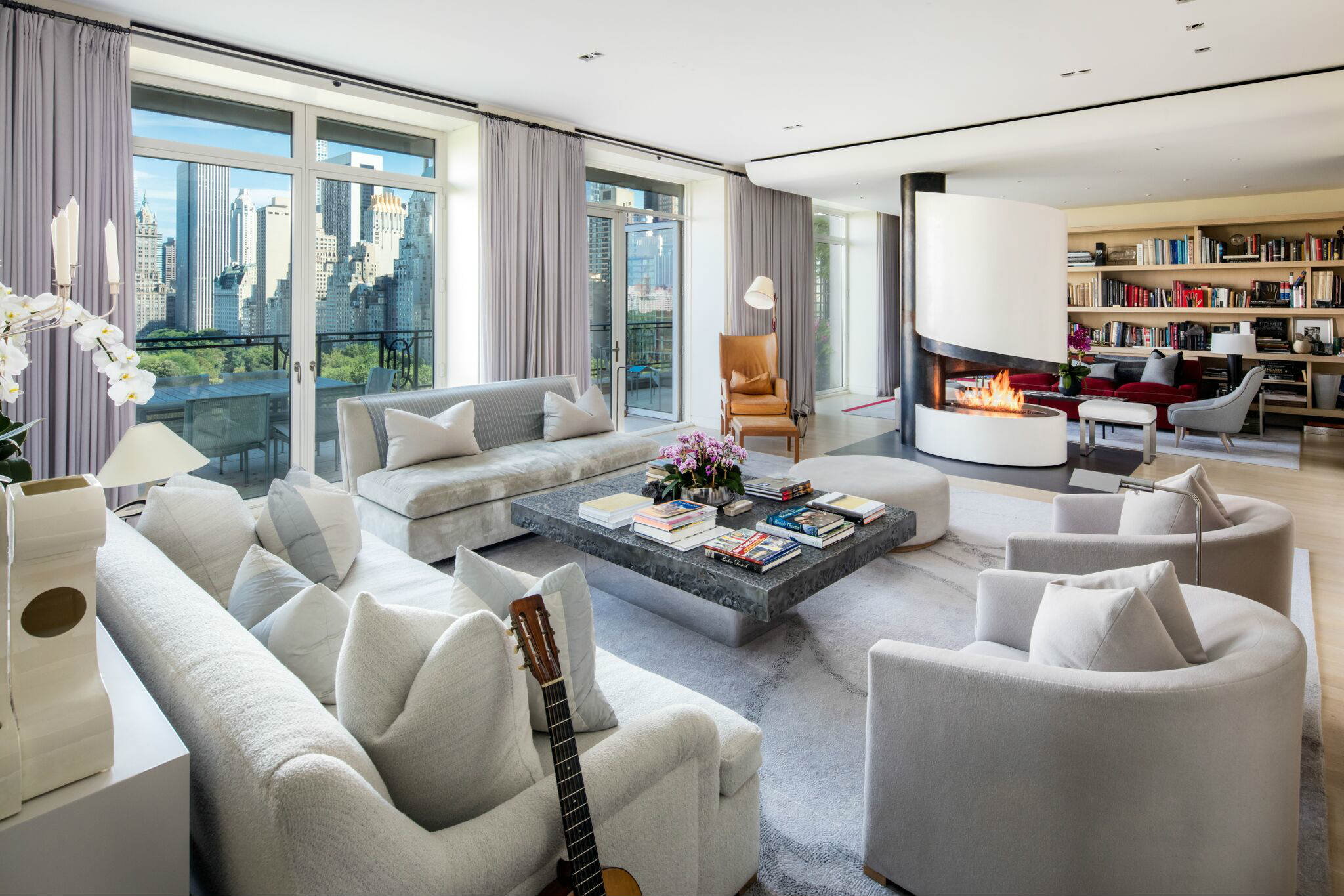 Sting s central park facing penthouse is asking 56m for New york city penthouses central park
