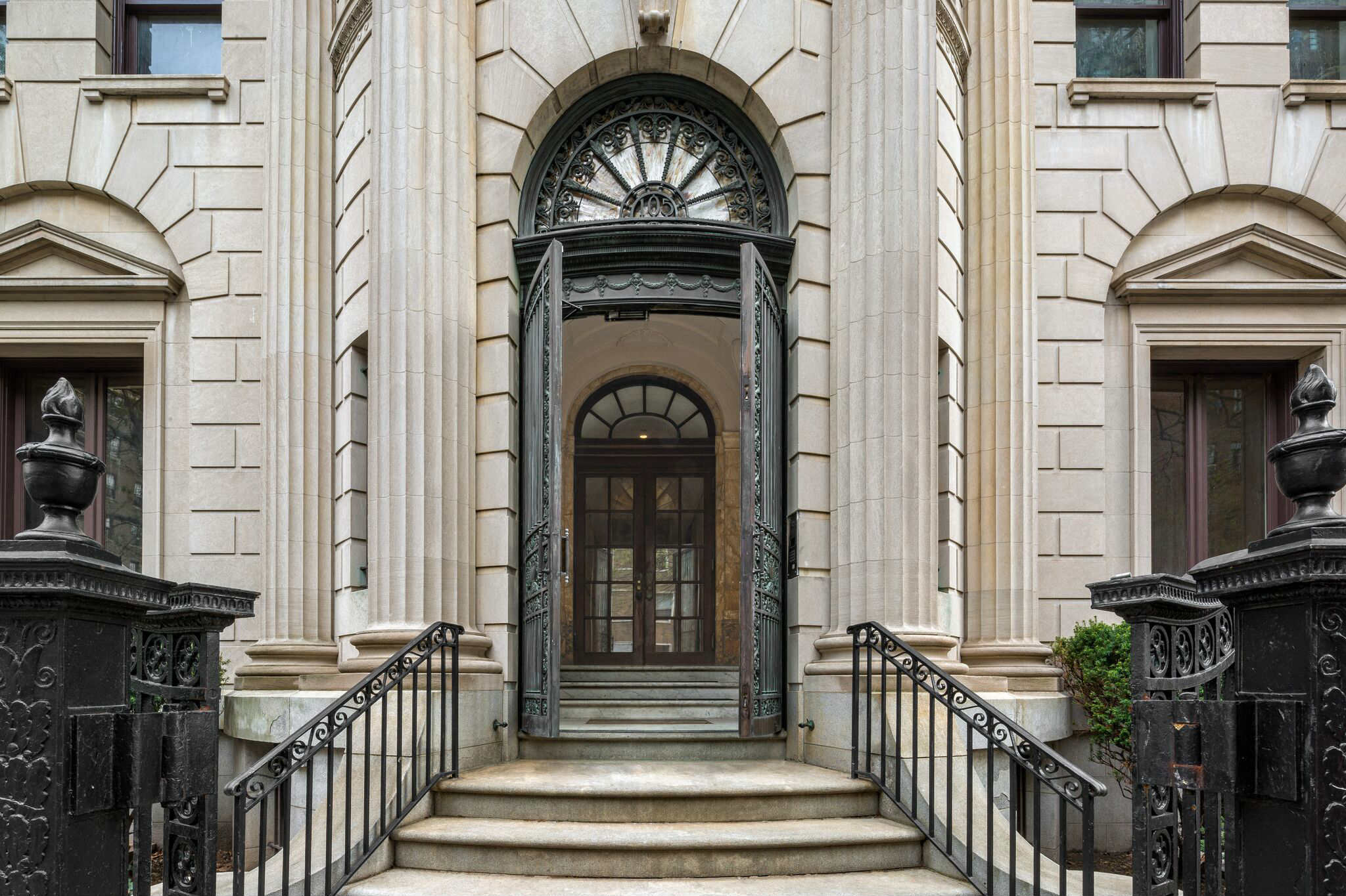 A neoclassical style brooklyn mansion is converted into for Wall street journal mansion