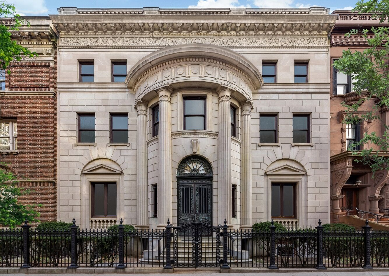 A neoclassical style brooklyn mansion is converted into for Neoclassical house