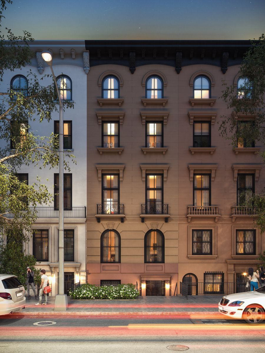 Restored 1857 brooklyn townhouse is asking 10m for Townhomes for sale in nyc