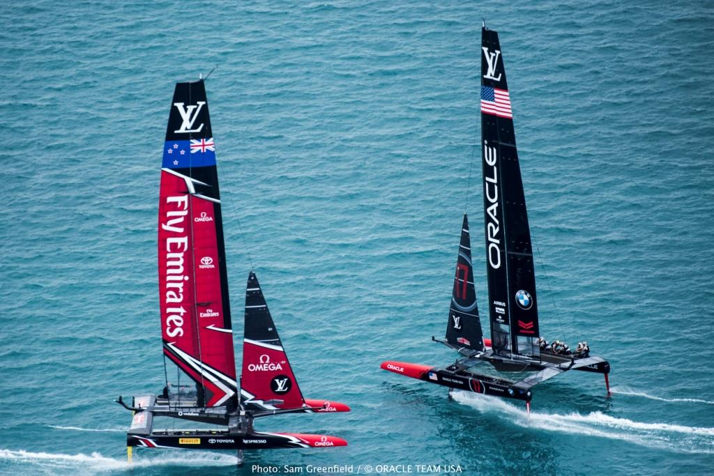 17/06/24 - Hamilton (BDA) - 35th America's Cup Bermuda 2017 - ORACLE TEAM USA