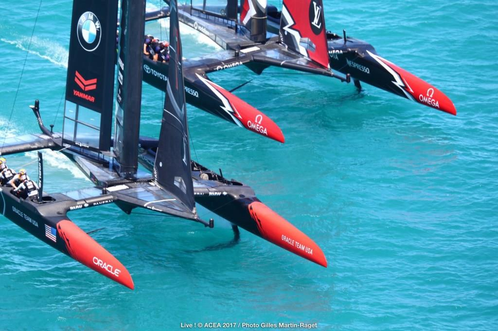 25/06/2017 - Bermuda (BDA) - 35th America's Cup Match presented by Louis Vuitton, Day 4 © ACEA 2017 / Photo Gilles Martin-Raget